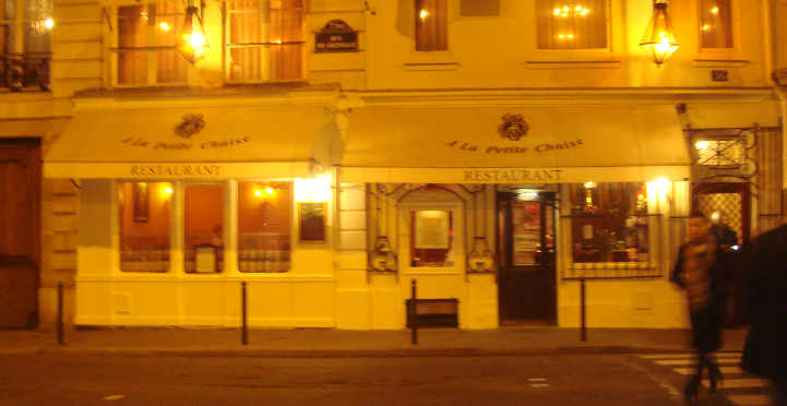 A la petit chaise le plus vieux restaurant de paris for A la petite chaise paris