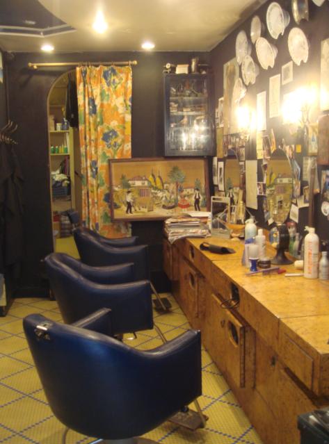 La coiffeuse antiquaire de l atelier 46 - Salon de coiffure libanais paris ...
