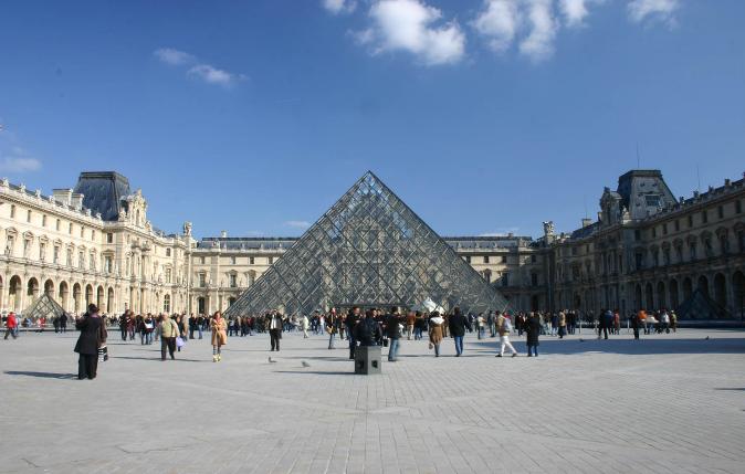Cette pyramide du louvre qui a tant fait couler d encre - Qui a construit la pyramide du louvre ...